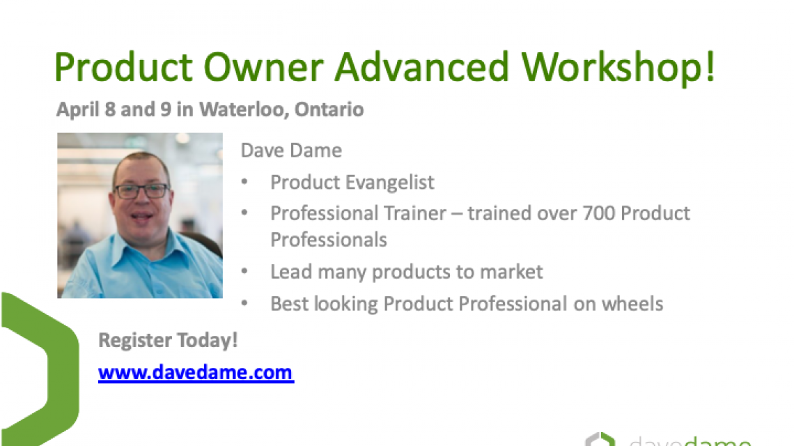 Professional Product Owner Workshop